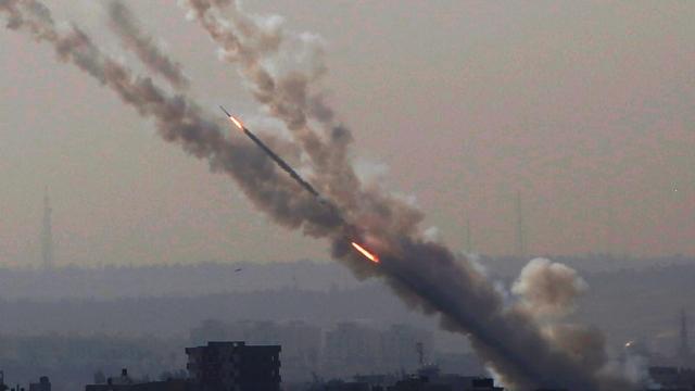 В Израиле заявили, что с территории сектора Газа за три дня выпустили более 1,5 тыс. ракет
