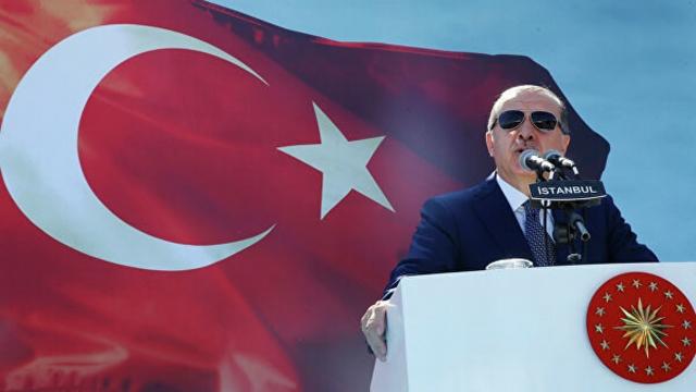 """Эрдоган послал """"проклятья"""" правительству Австрии из-за флага Израиля"""