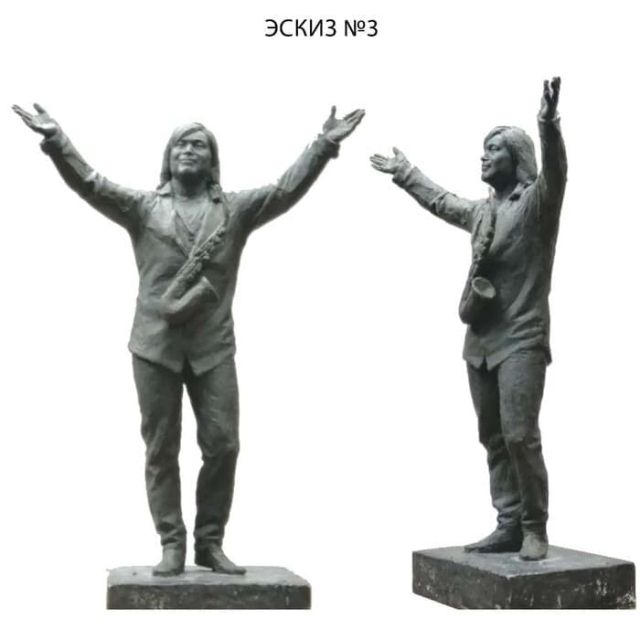 Появились эскизы памятника Батырхану Шукенову