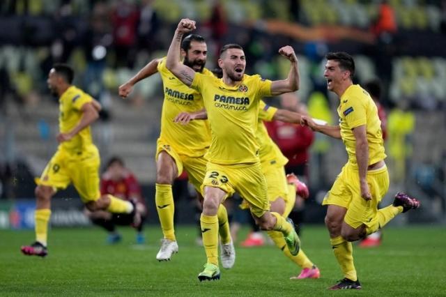 «Вильярреал» обыграл «Манчестер Юнайтед» в серии пенальти и выиграл Лигу Европы