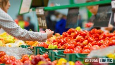 Овощи внезапно подорожали в Актобе