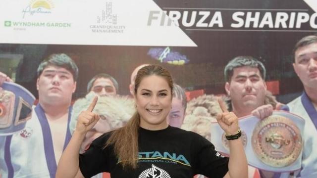 Фируза Шарипова установила очередное достижение