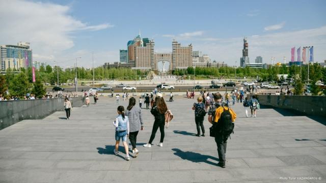 Названа численность населения Казахстана