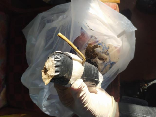Самодельные гранаты изъяли у жителя СКО