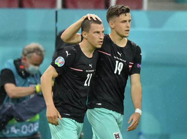 Сборная Австрии вырвала победу у Северной Македонии на ЕВРО-2020