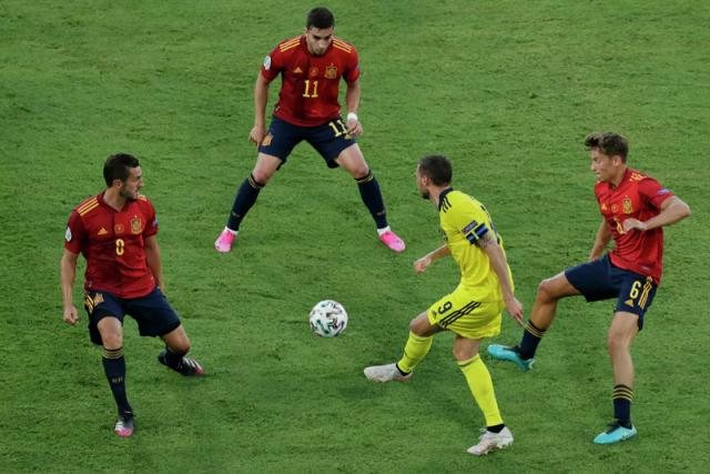 Сборные Испании и Швеции сыграли первую безголевую ничью на ЕВРО-2020