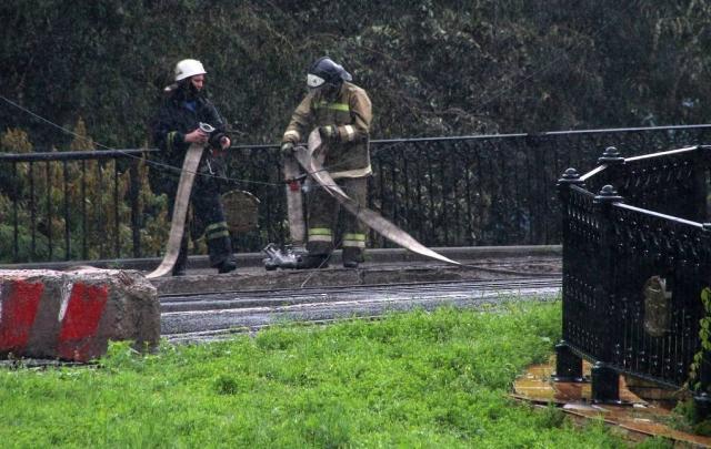 В Луганске произошел взрыв на газопроводе