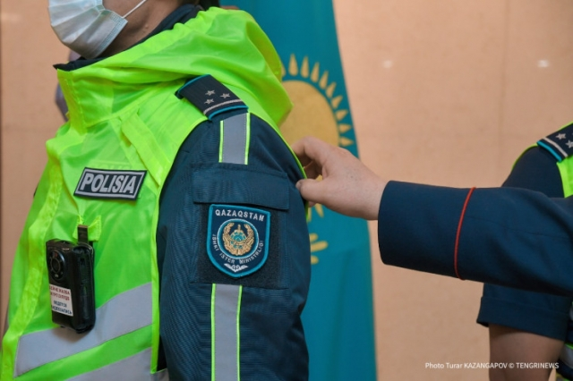 Как будет выглядеть новая форма полиции Казахстана