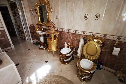 У задержанного главы ГИБДД Ставрополья нашли особняк с золотым унитазом