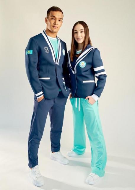 Представлена олимпийская экипировка сборной Казахстана в Токио-2020