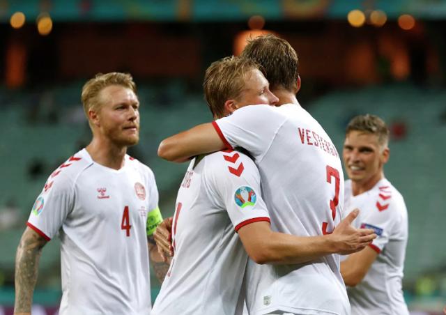 Сборная Дании обыграла Чехию и вышла в полуфинал ЕВРО-2020