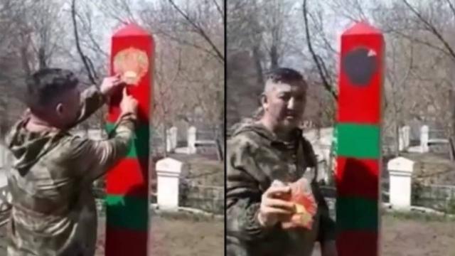 Председатель Союза ветеранов задержан за осквернение памятника в Актобе