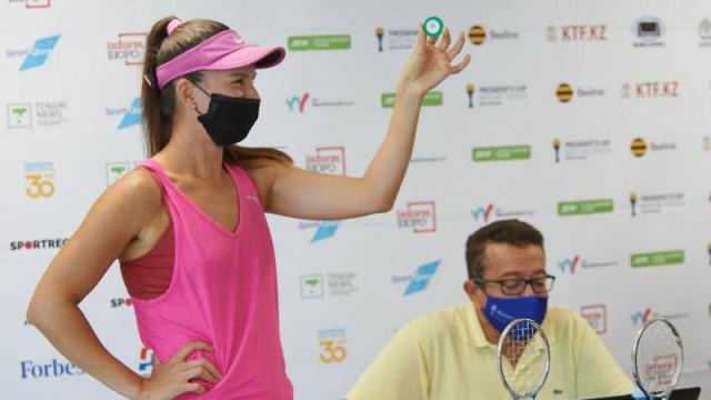 Главный женский теннисный турнир Казахстана стартует в столице