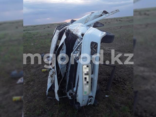 Мужчина с внуком насмерть разбились в Актюбинcкой области