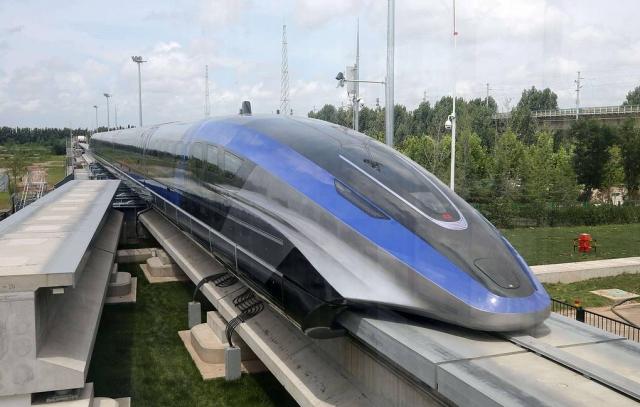 В Китае создали поезд, способный развивать скорость до 600 км/ч
