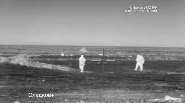 Уничтожение террористов российским спецназом в Сирии показали на видео