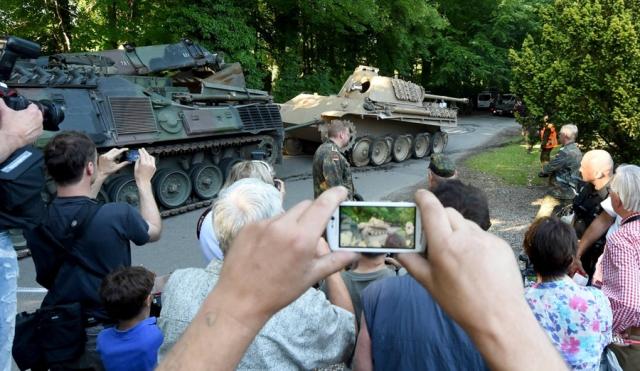 """Пожилому немцу грозит штраф в €500 тысяч за припрятанный в подвале танк """"Пантера"""""""