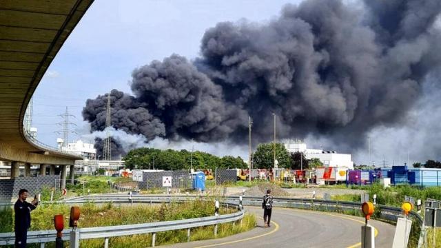 В Германии на мусоросжигающем заводе прогремел мощный взрыв. Есть пострадавшие