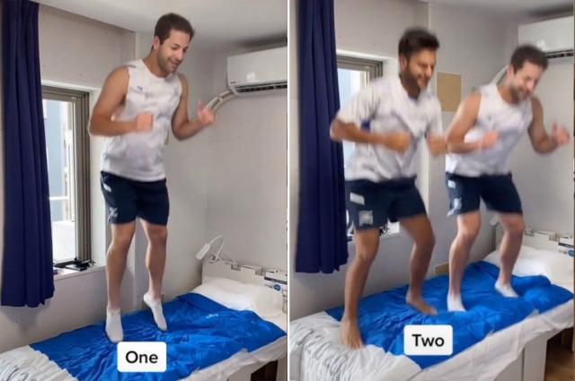 Спортсмены из сборной Израиля сломали антисекс-кровать в Олимпийской деревне