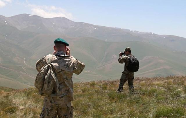 Минобороны Армении сообщило о боях на северо-восточном направлении границы с Азербайджаном