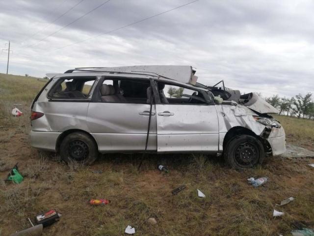 8 иностранцев госпитализированы в результате ДТП в Актюбинской области