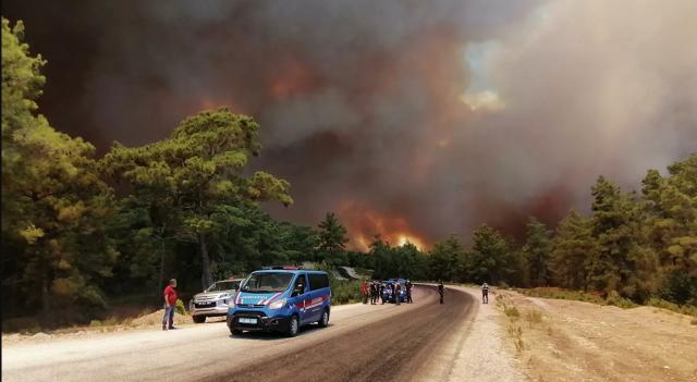 При пожарах на юге Турции уже погибло четыре человека