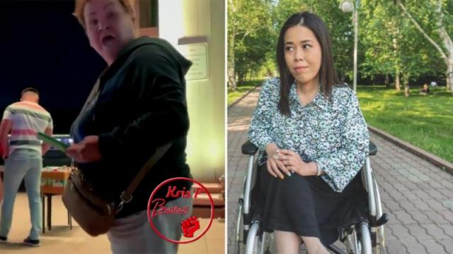 "Алматинка объяснила причину ""нападения"" на девушку-инвалида в парке"