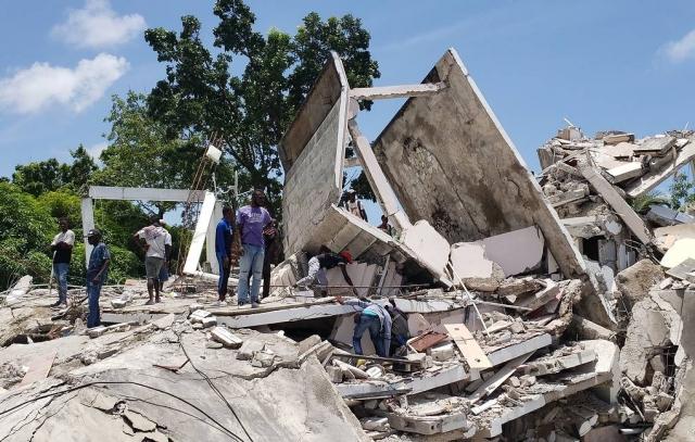Землетрясение на Гаити. Погибло 304 человека