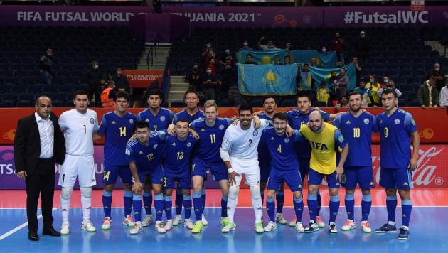 Определился первый возможный соперник Казахстана по плей-офф ЧМ по футзалу
