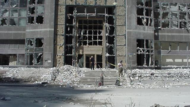 Секретная служба США опубликовала фото с теракта 11 сентября