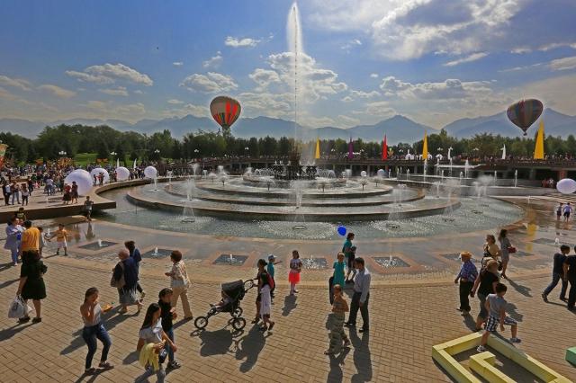Алматы празднует День города: южной столице Казахстана 1005 лет