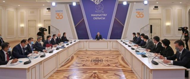 Токаев указал на ряд накопившихся проблем в Мангистауской области
