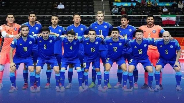 Сборная Казахстана по футзалу вышла в полуфинал мирового первенства