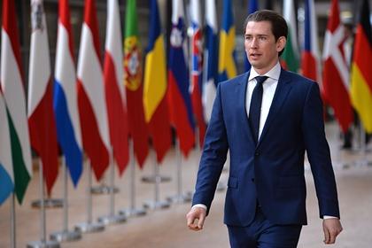 Канцлер Австрии объявил об уходе с поста