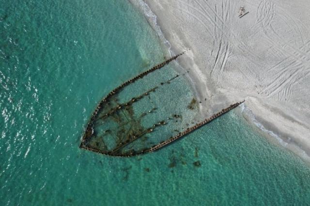 Красивые кадры кладбища кораблей сняли на видео в Мангистау