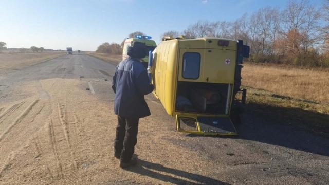 Врач, сопровождавшая пациента, погибла в ДТП в Северо-Казахстанской области